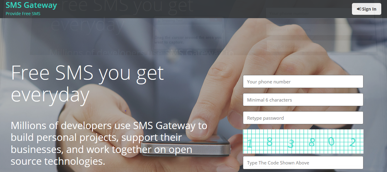 Kirim SMS Gratis Ke Seluruh Indonesia via MPSsoft