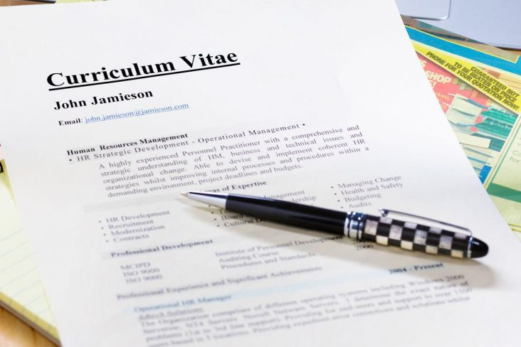 Contoh Daftar Riwayat Hidup (CV) Lamaran Kerja Yang Baik Dan Benar