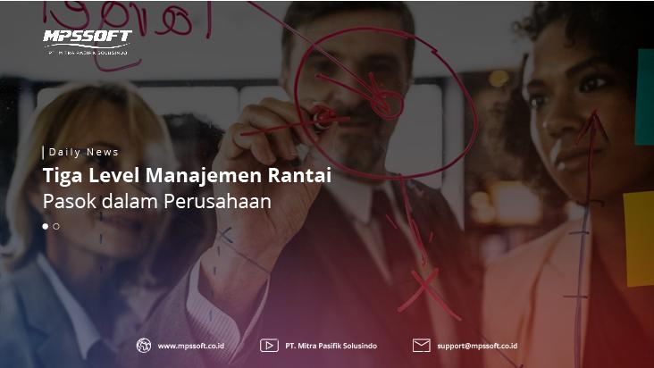 Tiga Level Manajemen Rantai Pasok Dalam Perusahaan