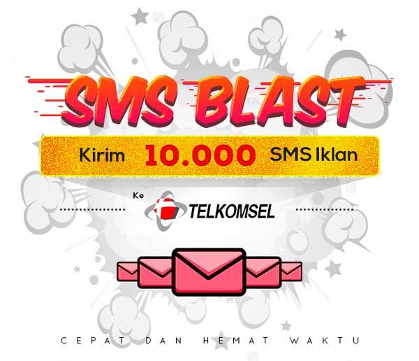 PAKET BLAST 10.000 SMS IKLAN KE TELKOMSEL | MPS Shop