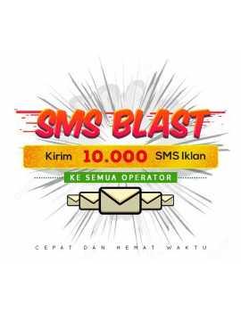PAKET BLAST 10.000 SMS IKLAN ALL OPERATOR