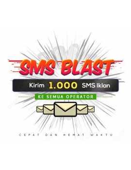PAKET BLAST 1.000 SMS IKLAN ALL OPERATOR