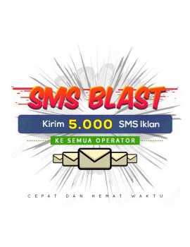 PAKET BLAST 5.000 SMS IKLAN ALL OPERATOR
