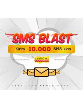 PAKET BLAST 10.000 SMS IKLAN KE INDOSAT