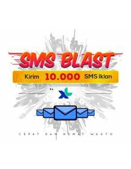 PAKET BLAST 10.000 SMS IKLAN KE XL