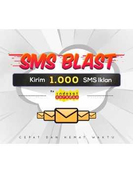 PAKET BLAST 1.000 SMS IKLAN KE INDOSAT