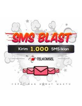 PAKET BLAST 1.000 SMS IKLAN KE TELKOMSEL