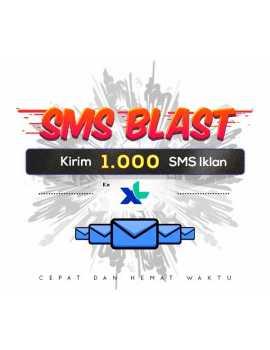 PAKET BLAST 1.000 SMS IKLAN KE XL