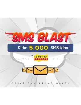 PAKET BLAST 5.000 SMS IKLAN KE INDOSAT