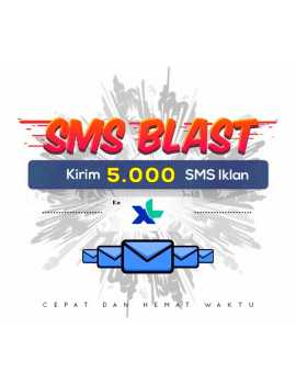 PAKET BLAST 5.000 SMS IKLAN KE XL