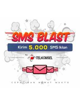 PAKET BLAST 5.000 SMS IKLAN KE TELKOMSEL