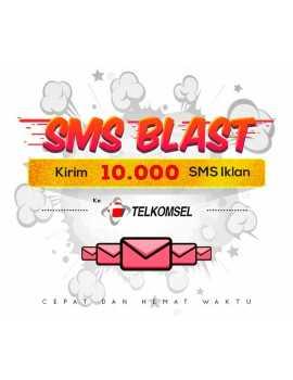 PAKET BLAST 10.000 SMS IKLAN KE TELKOMSEL
