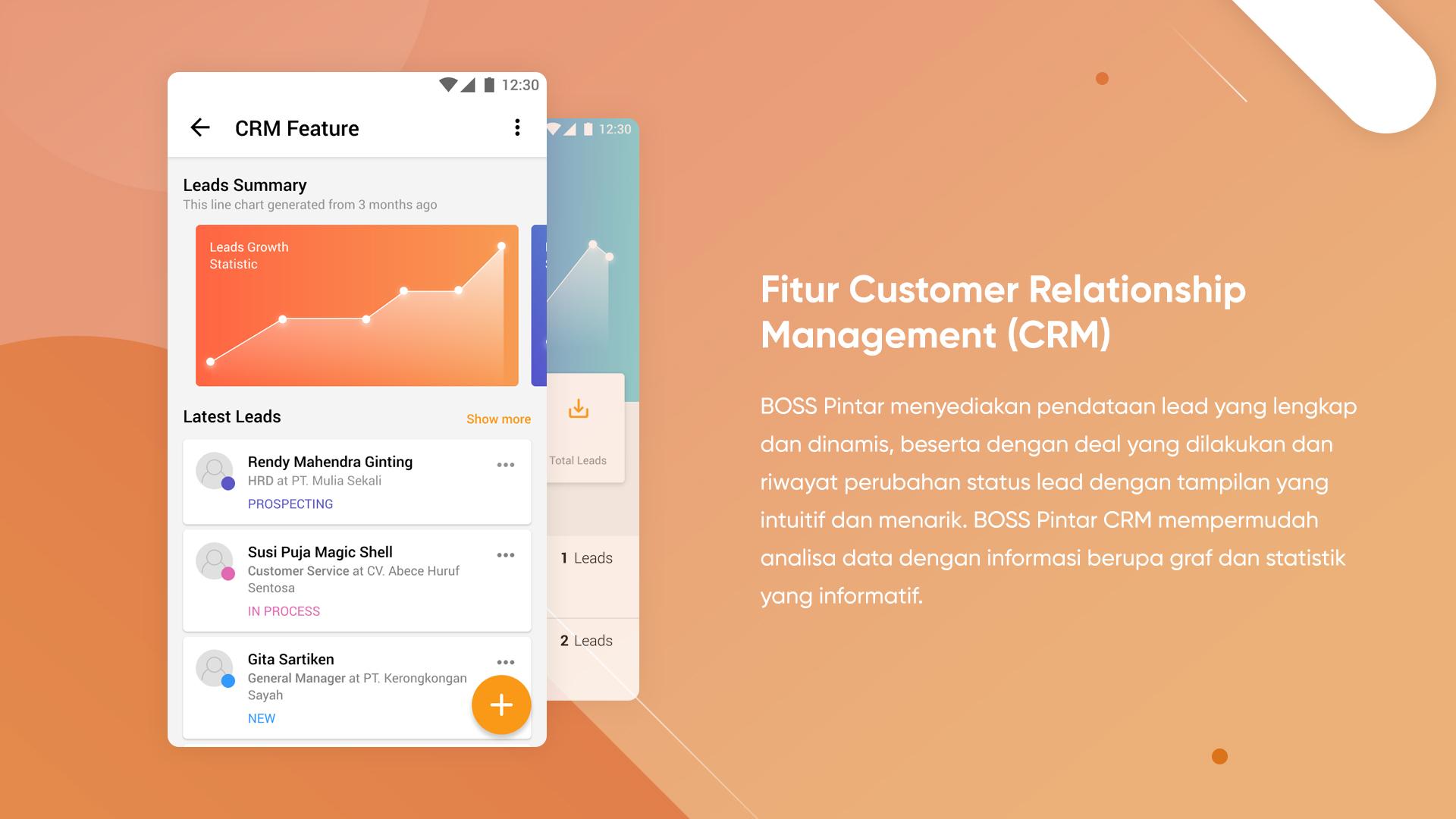 1. Fitur Customer Relationship Management (CRM)